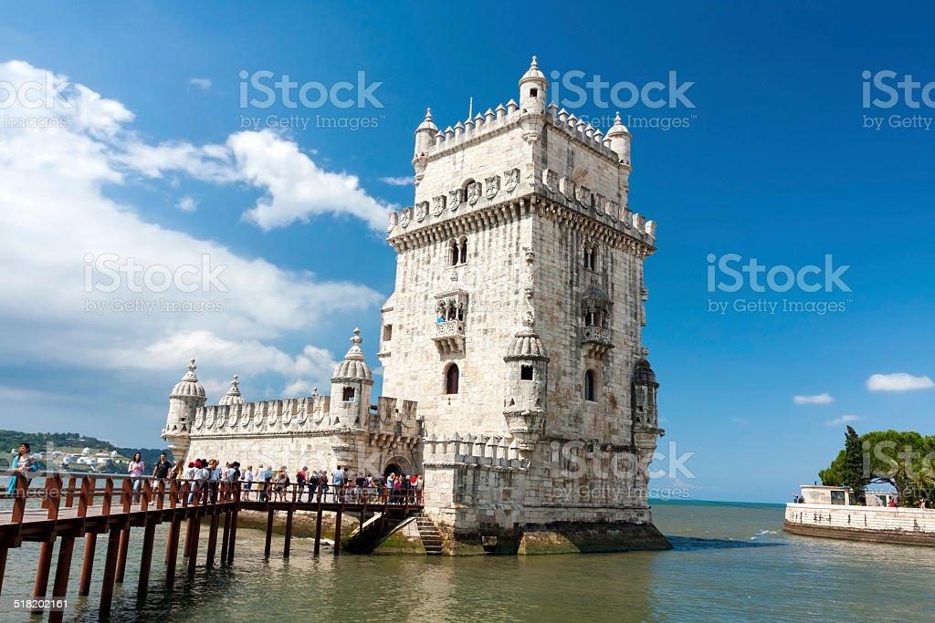 Belem Tower stock photo