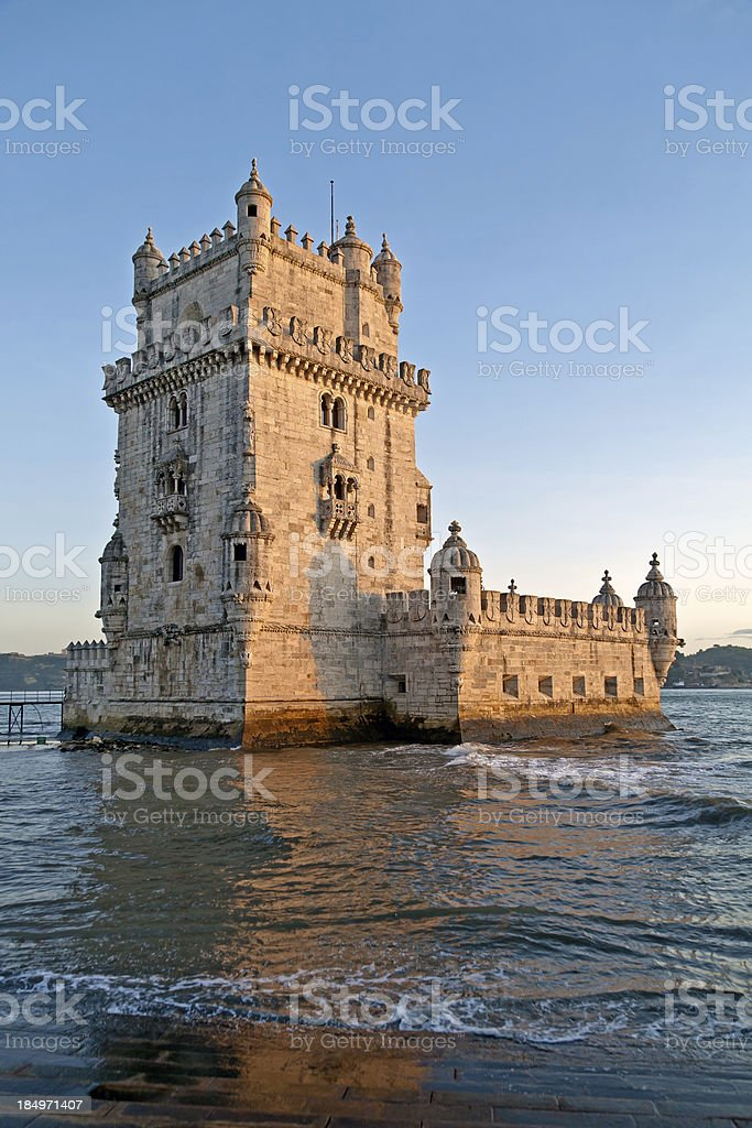Belem Tower - Torre de Belém stock photo