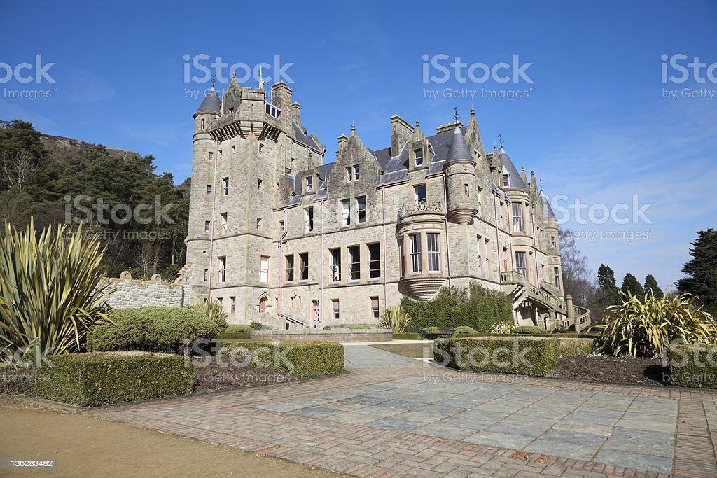 Belfast Castle, Northern Ireland stock photo