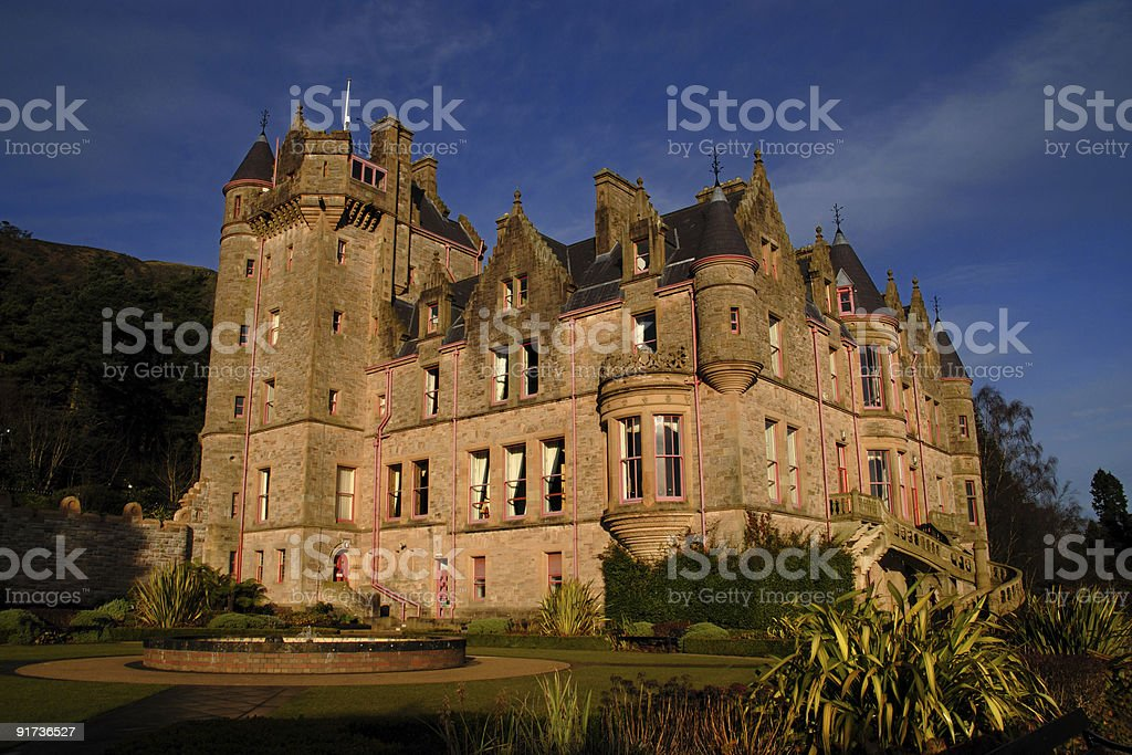 Schloss Belfast royalty-free stock photo