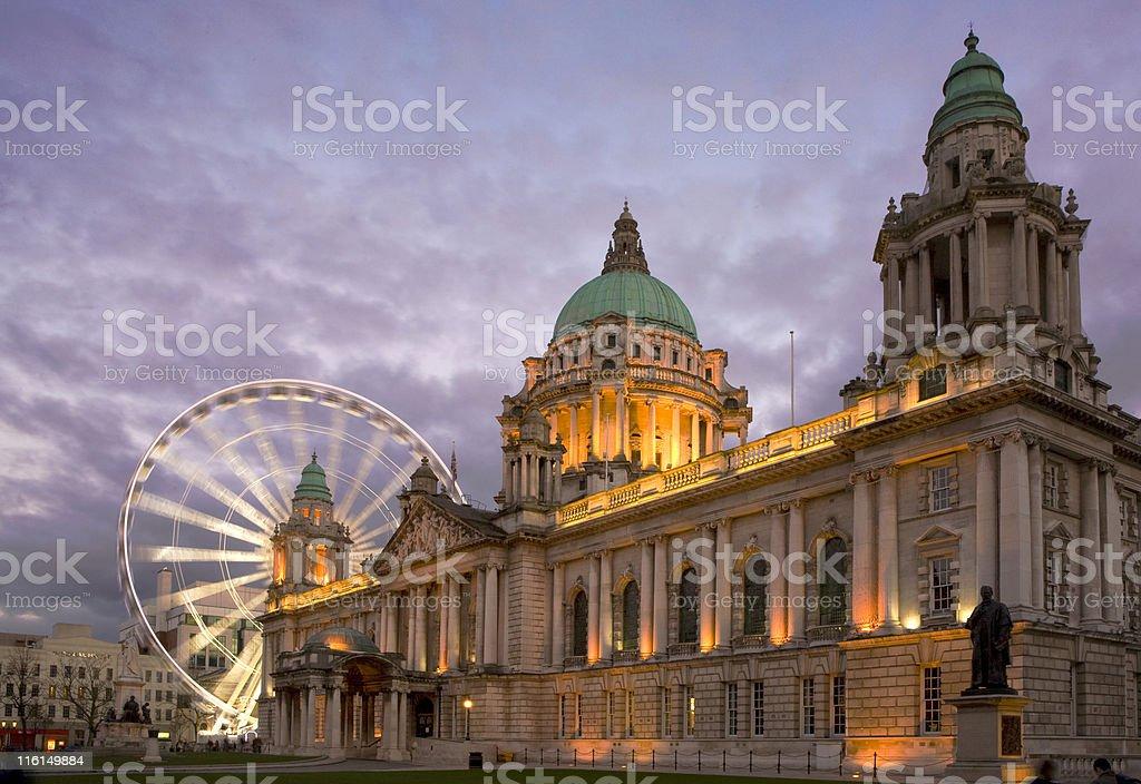 Belfast Eye royalty-free stock photo