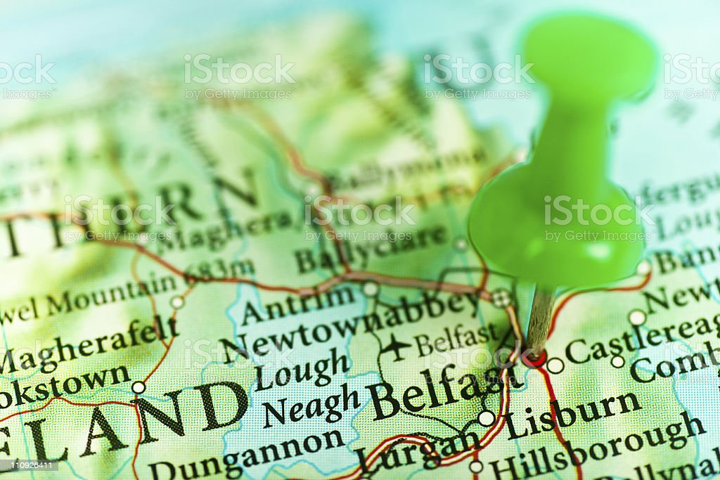 Belfast, Northern Ireland royalty-free stock photo