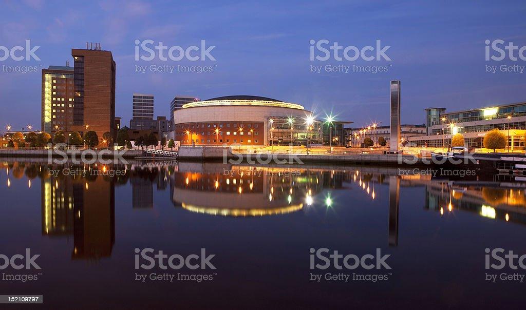 Belfast Waterfront stock photo