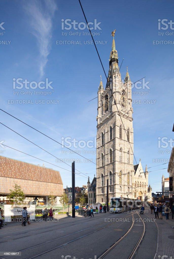 Belfort, Ghent royalty-free stock photo