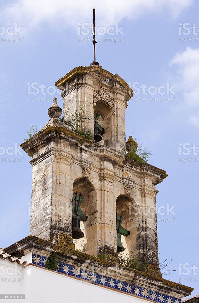 Belfry in Andalusia royalty-free stock photo