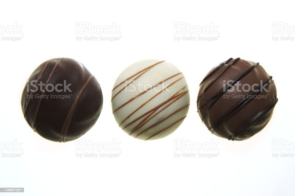 Belgian chocolates royalty-free stock photo