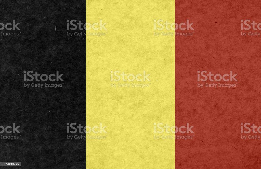 Belgian flag royalty-free stock photo