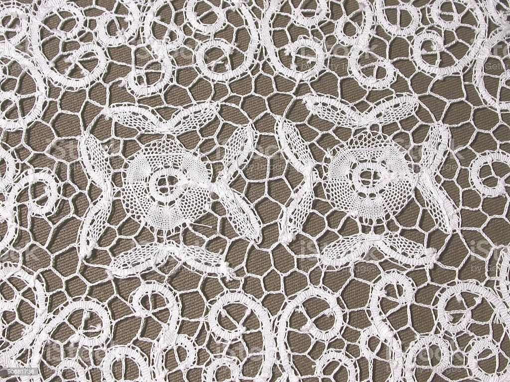 Belgian Lace royalty-free stock photo