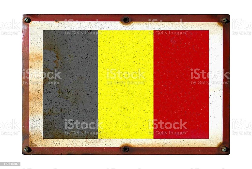 Belgium flag royalty-free stock photo