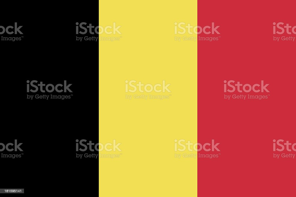 Belgium Flag royalty-free stock photo