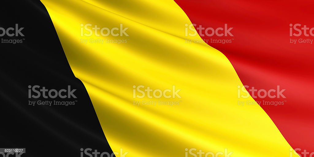Belgium flag. royalty-free stock photo