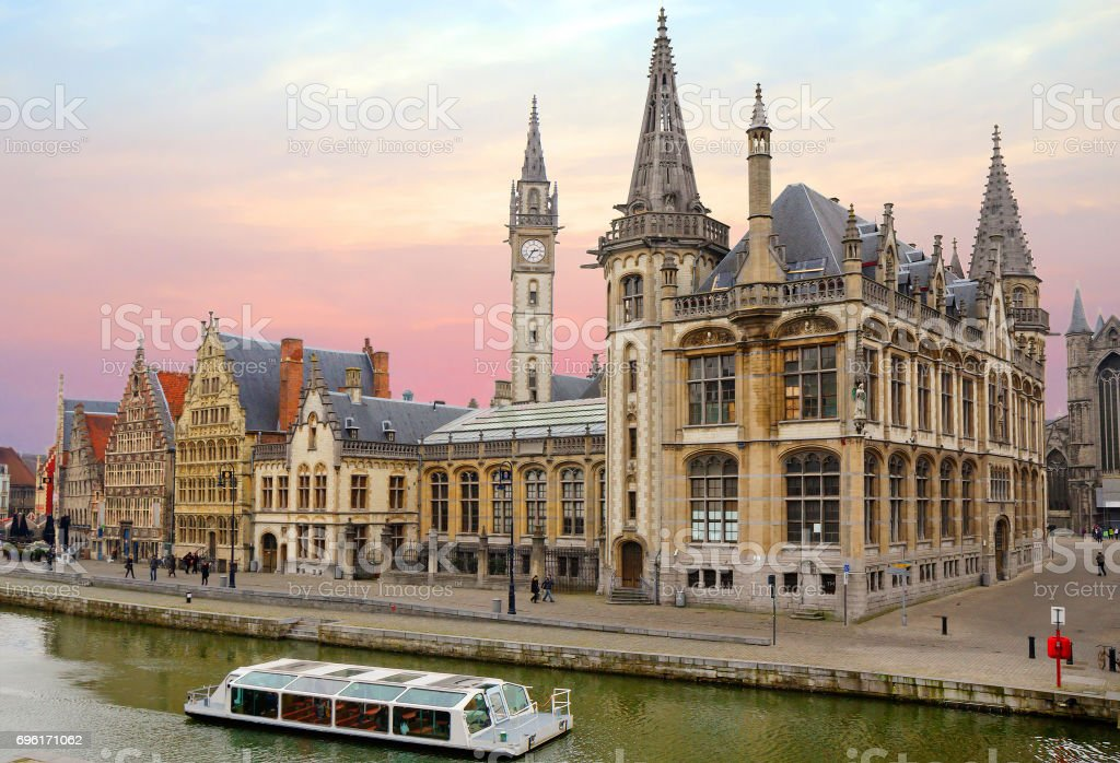 Belgium. Gent. stock photo