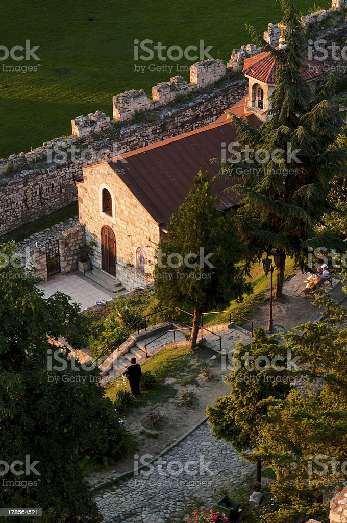 Belgrade fortress royalty-free stock photo