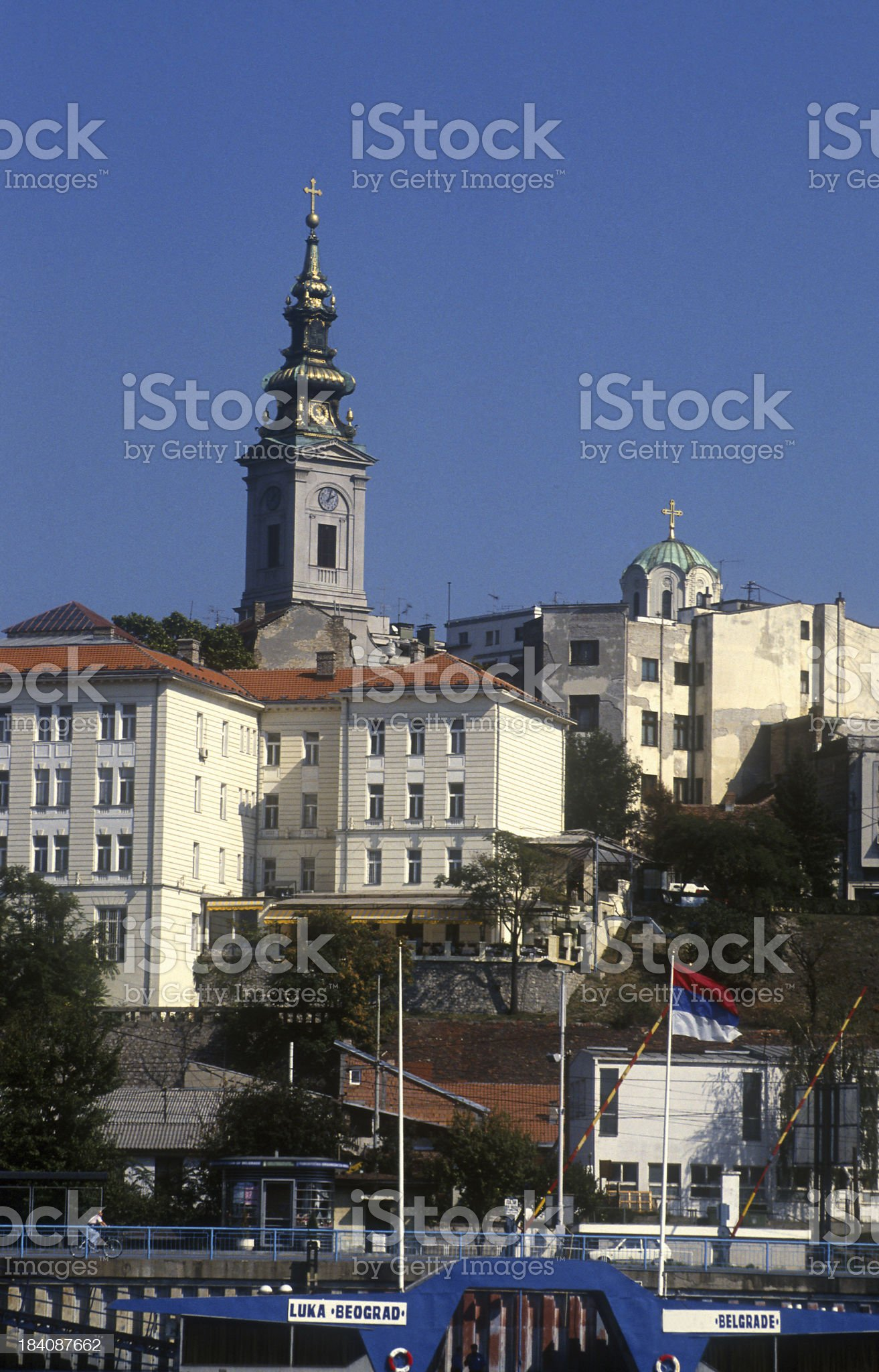 Belgrade royalty-free stock photo