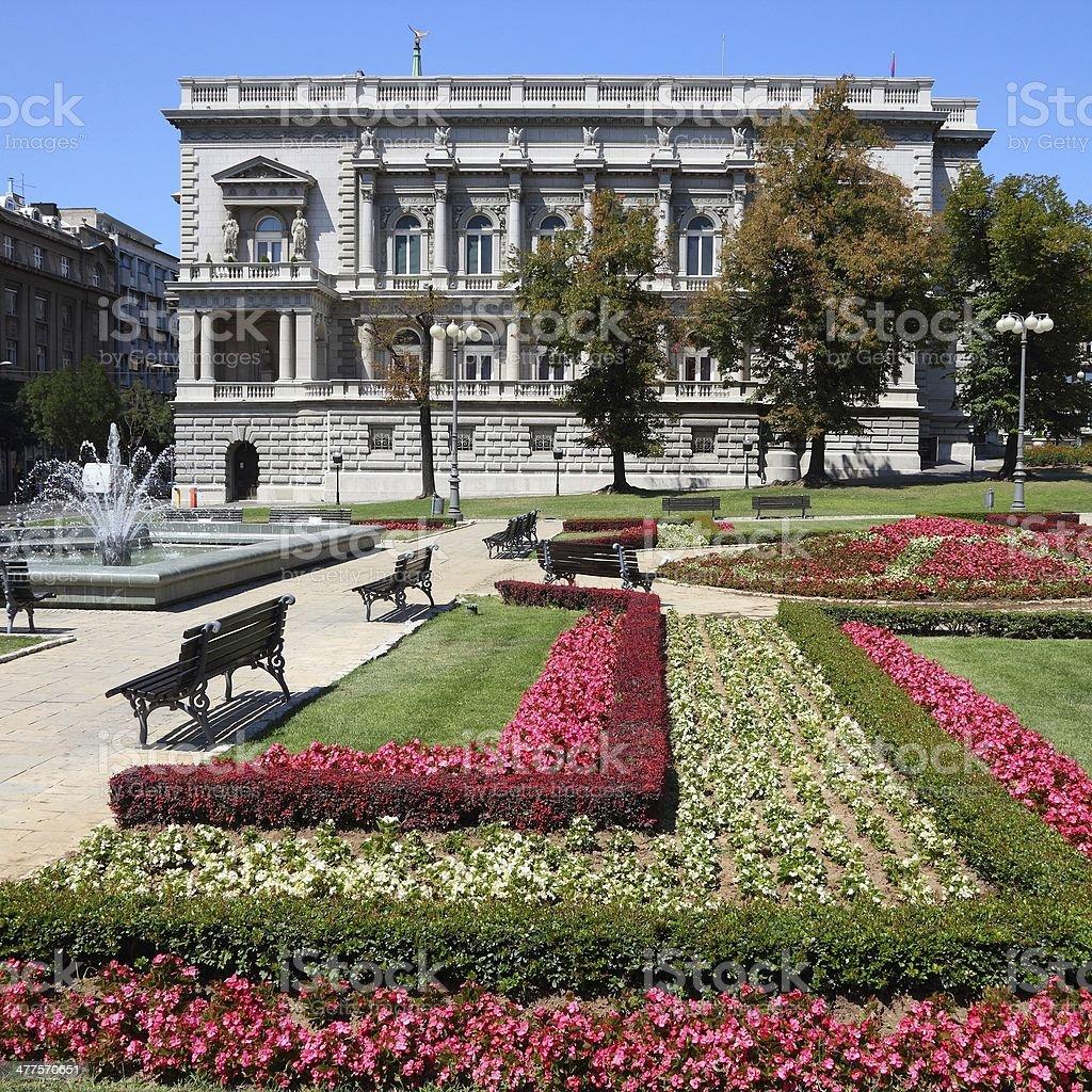 Belgrade royalty-free stock photo