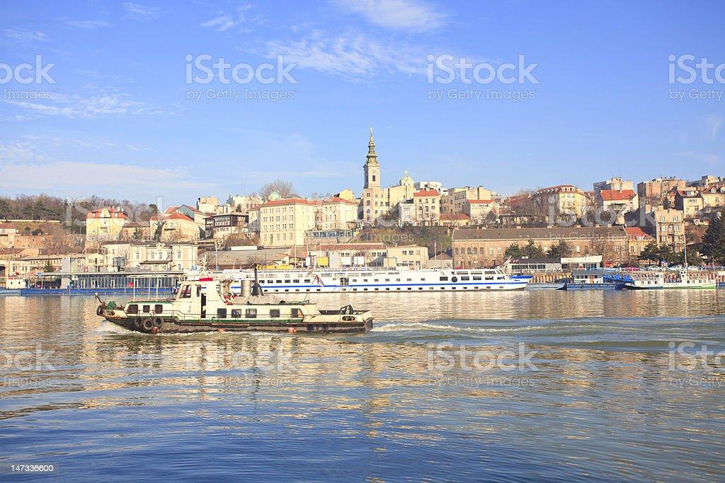 Belgrade Serbia stock photo
