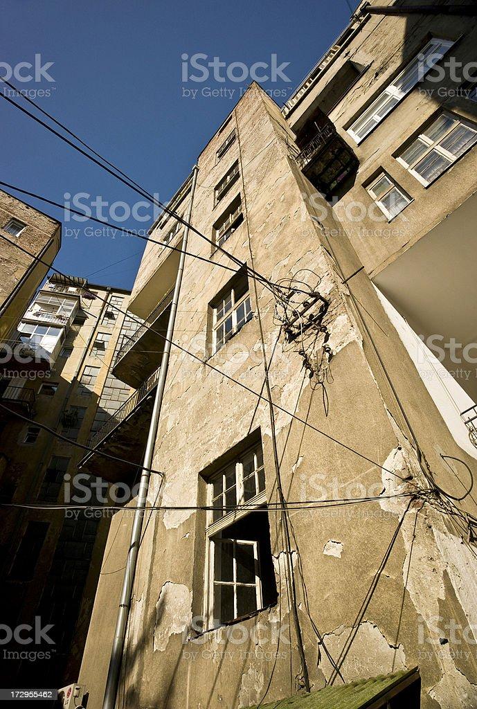 Belgrade's Facade royalty-free stock photo
