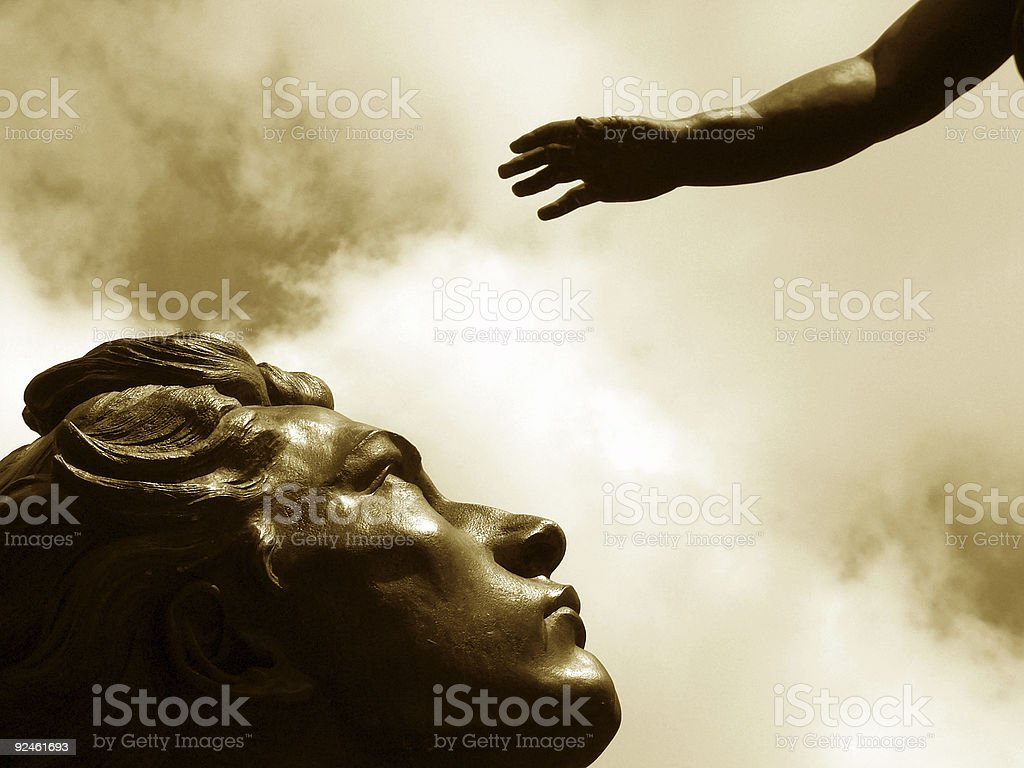 Belief royalty-free stock photo
