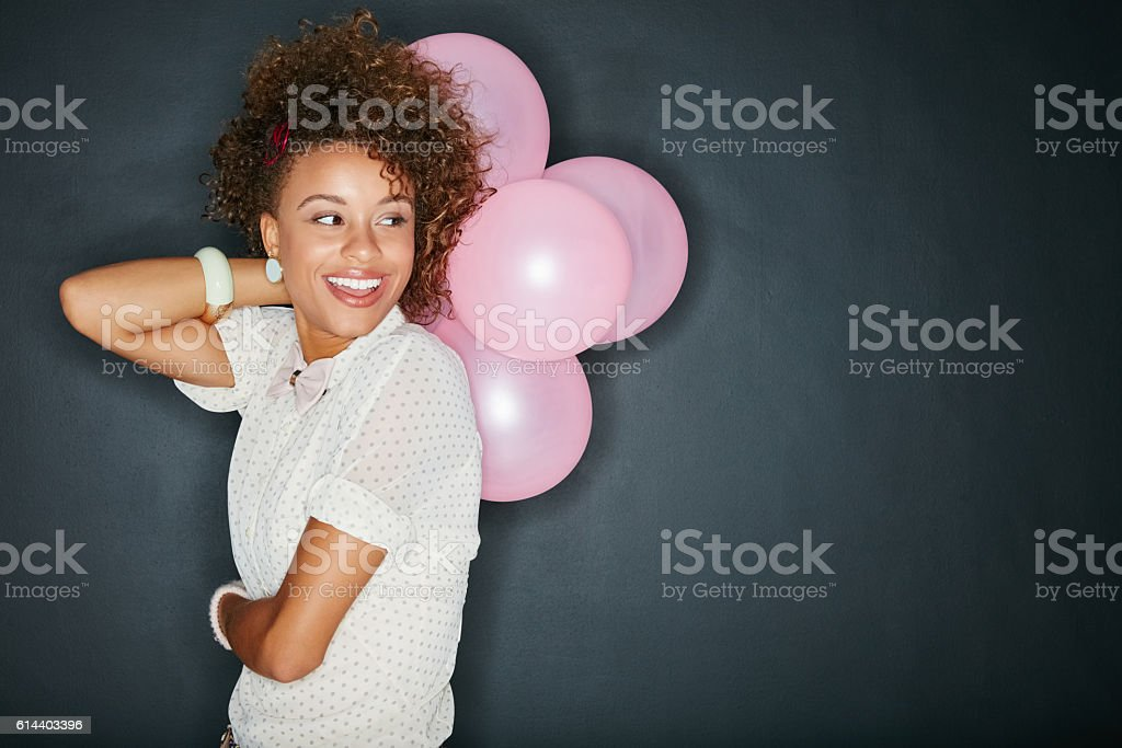 I believe celebrations are in order stock photo