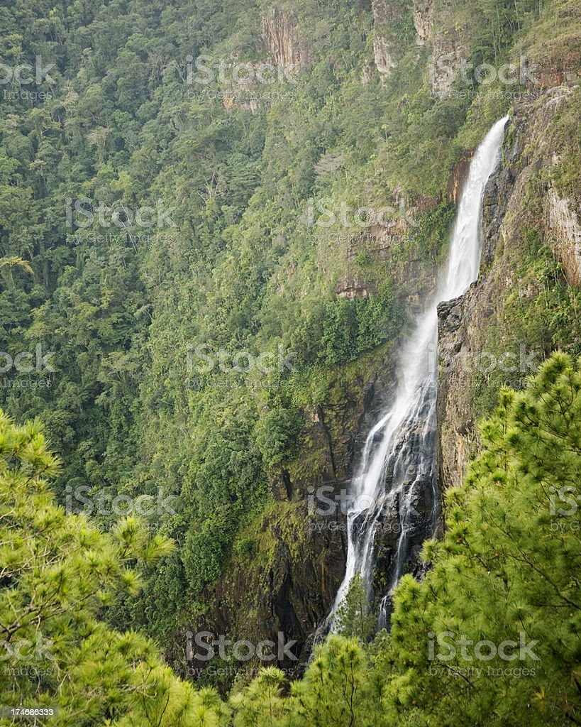 Belize: 1000 Foot Falls, Cayo District stock photo