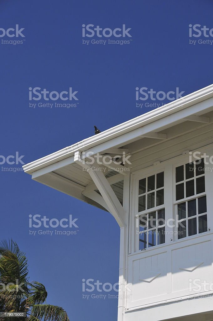 Belize city: Government-House - House of Culture stock photo