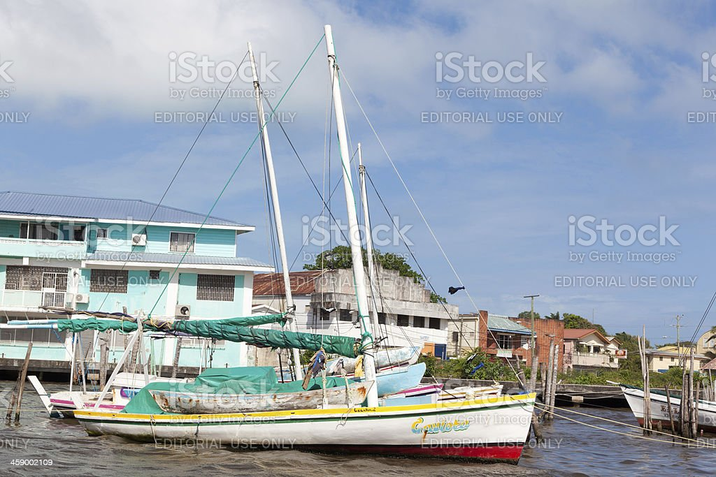 Belize City royalty-free stock photo