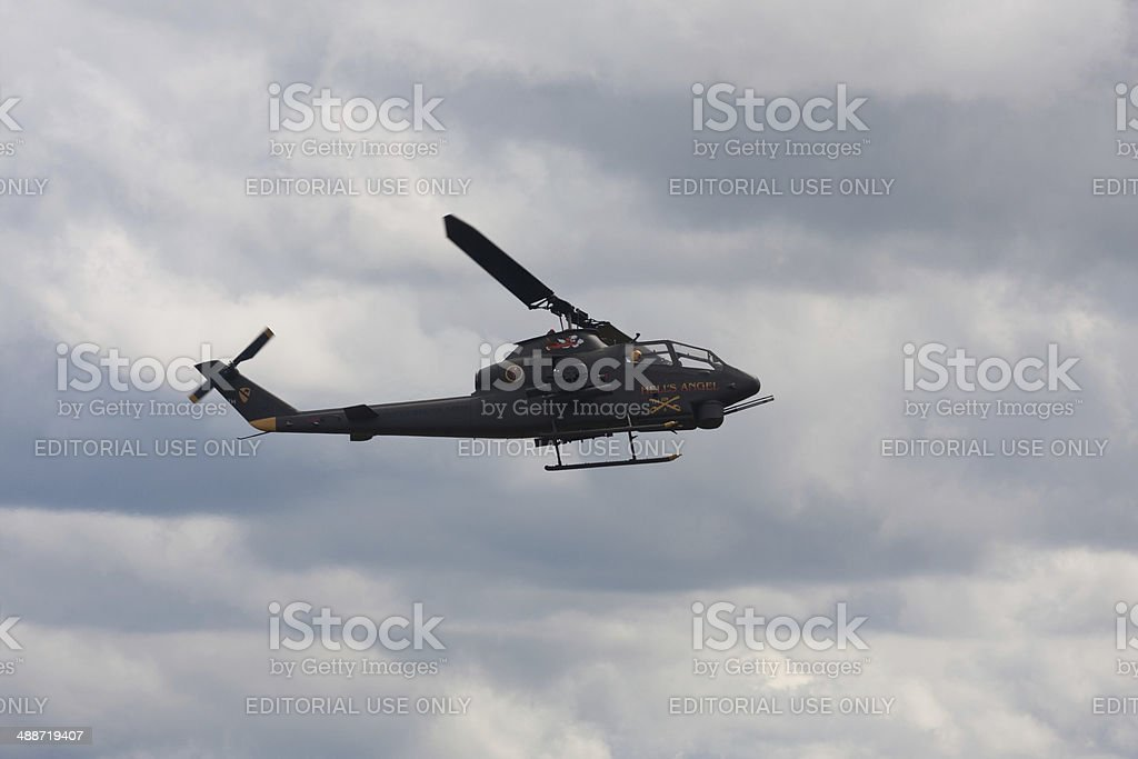 Bell AH-1 Cobra Helicopter stock photo