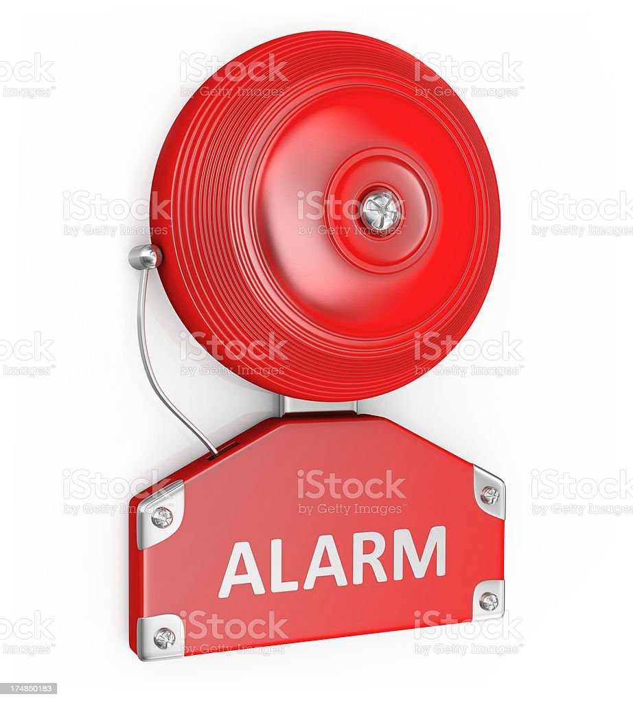 Bell Alarm stock photo