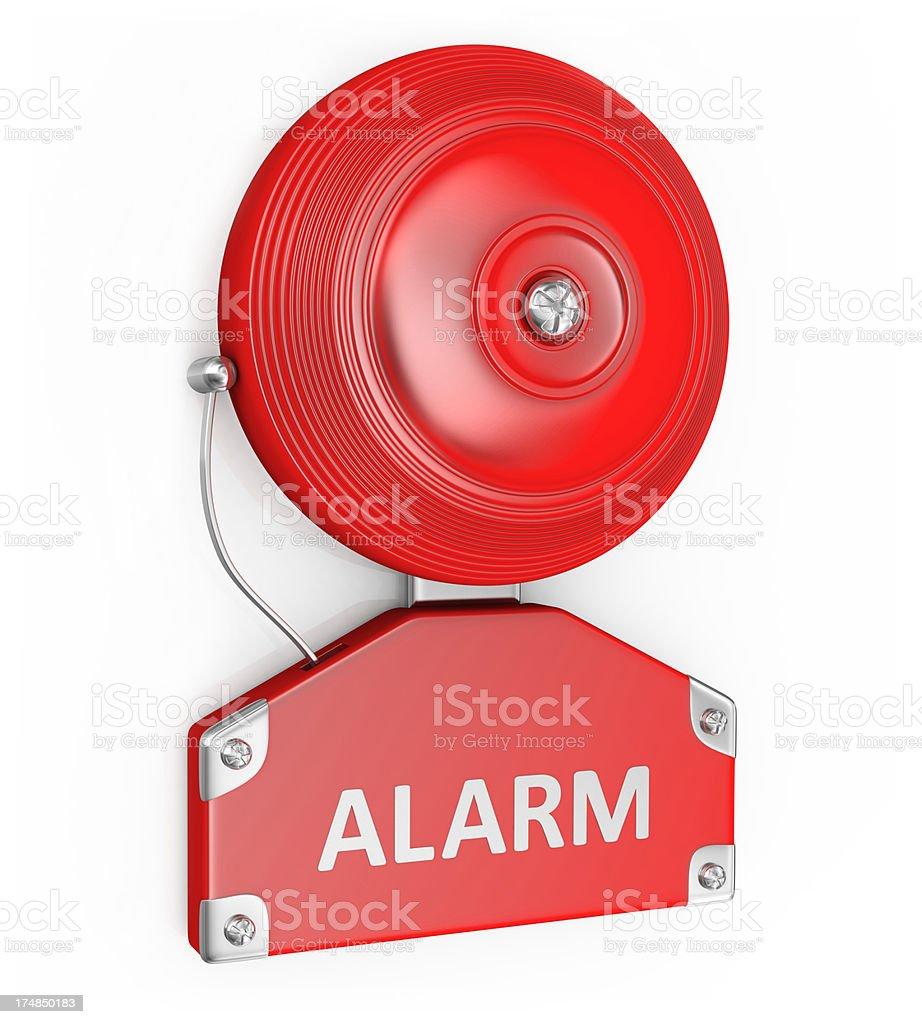 Bell Alarm stock photo