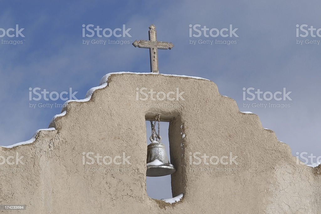 Bell and Cross stock photo