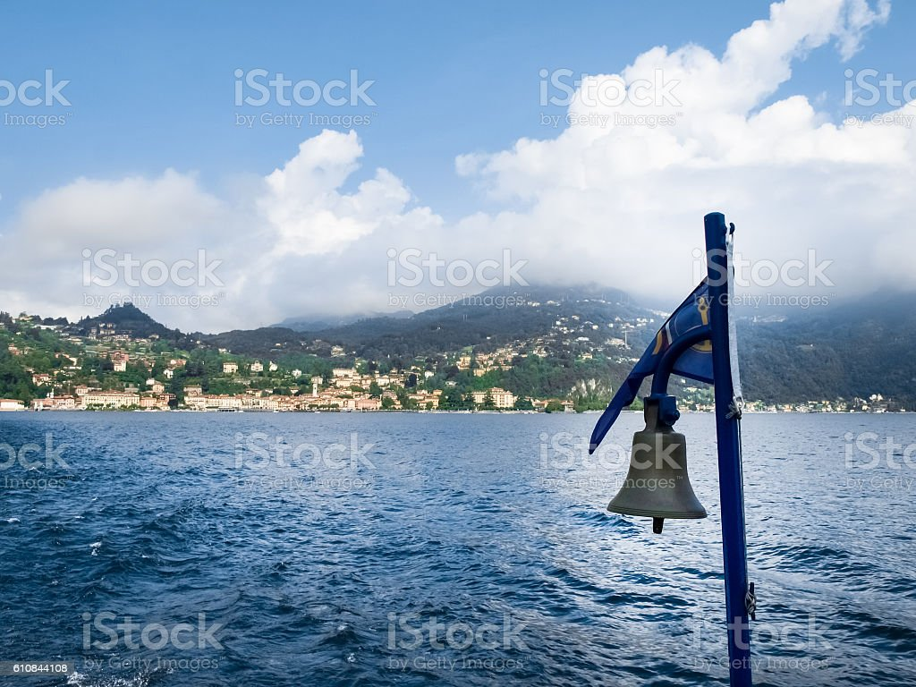 bell boating stock photo
