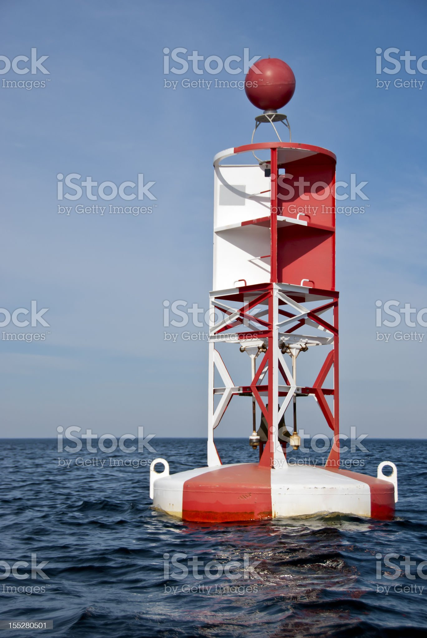 Bell Buoy royalty-free stock photo