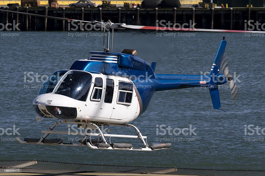 Bell Helicopter stock photo