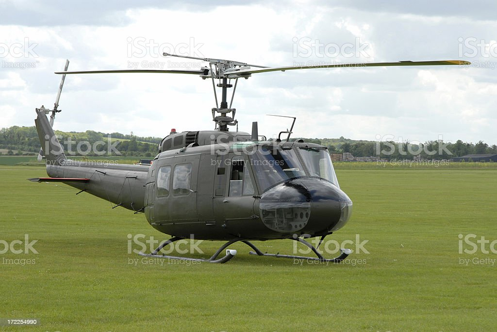 Bell Huey royalty-free stock photo