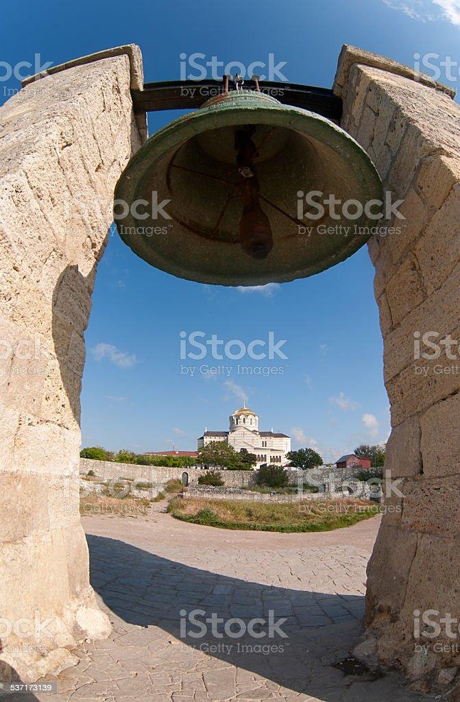 bell in Sewastopol Lizenzfreies stock-foto