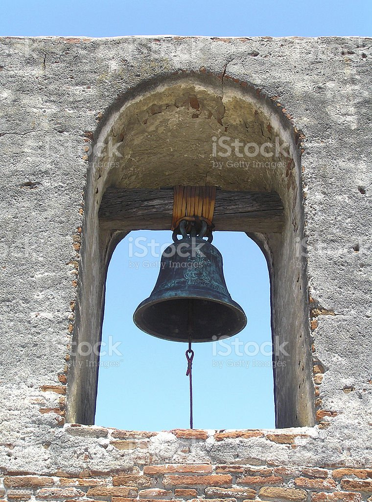 bell of san juan stock photo