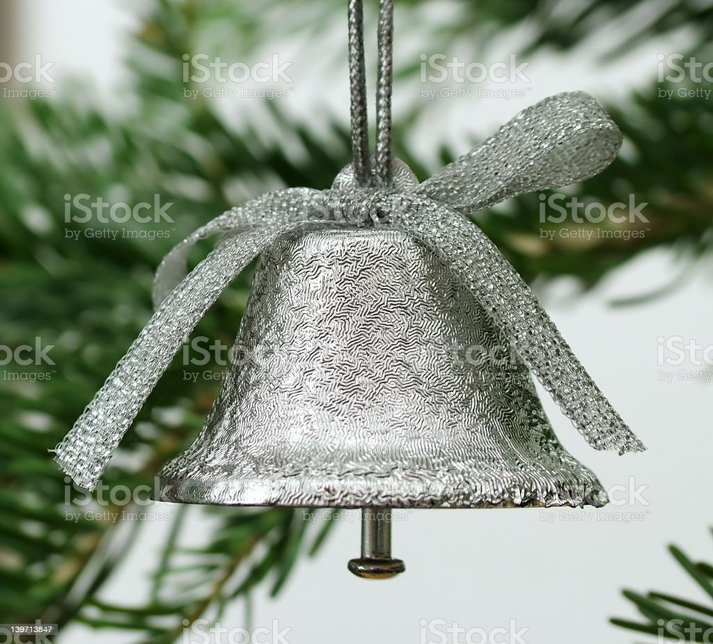 Bell ornament royalty-free stock photo