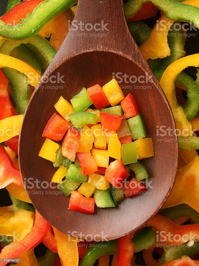 Bell pepper royalty-free stock photo
