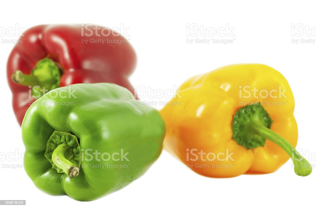 Bell Peppers royalty-free stock photo