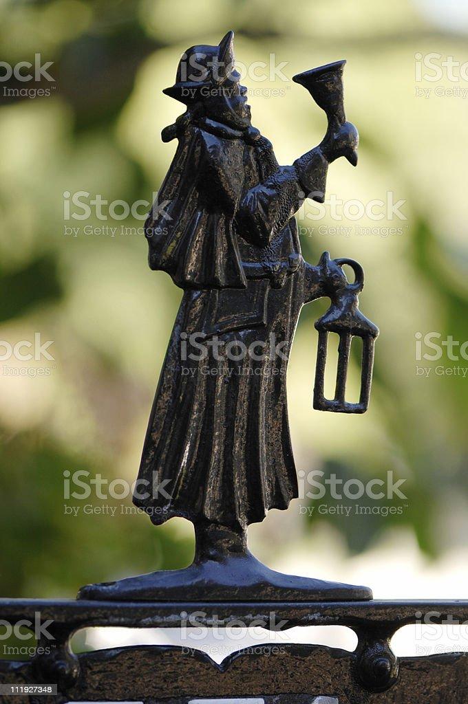Bell Ringer stock photo