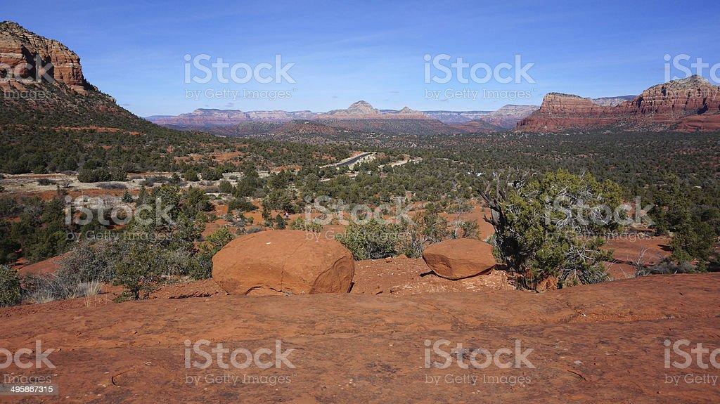 Bell Rock, Arizona stock photo
