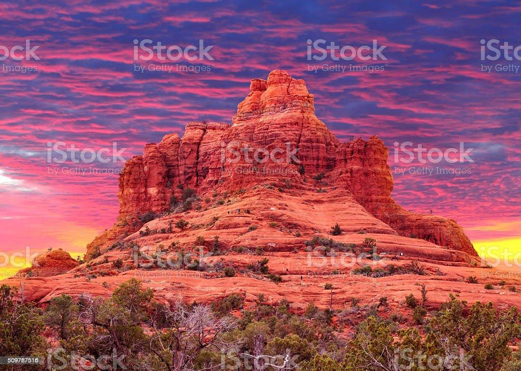 Bell Rock stock photo