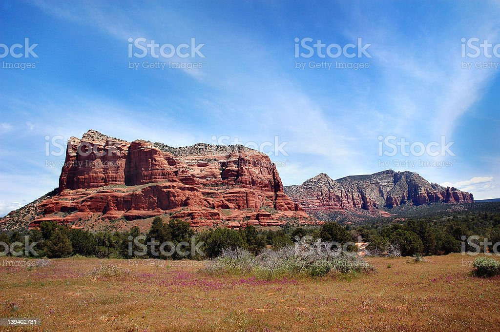 Bell Rock - Sedona, Arizona royalty-free stock photo