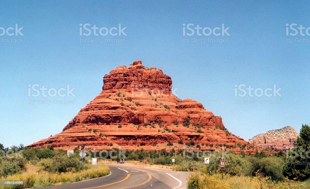 Bell Rock, Sedona - Arizona stock photo