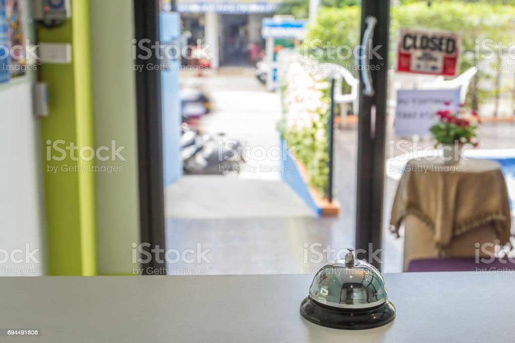 Bell service stock photo