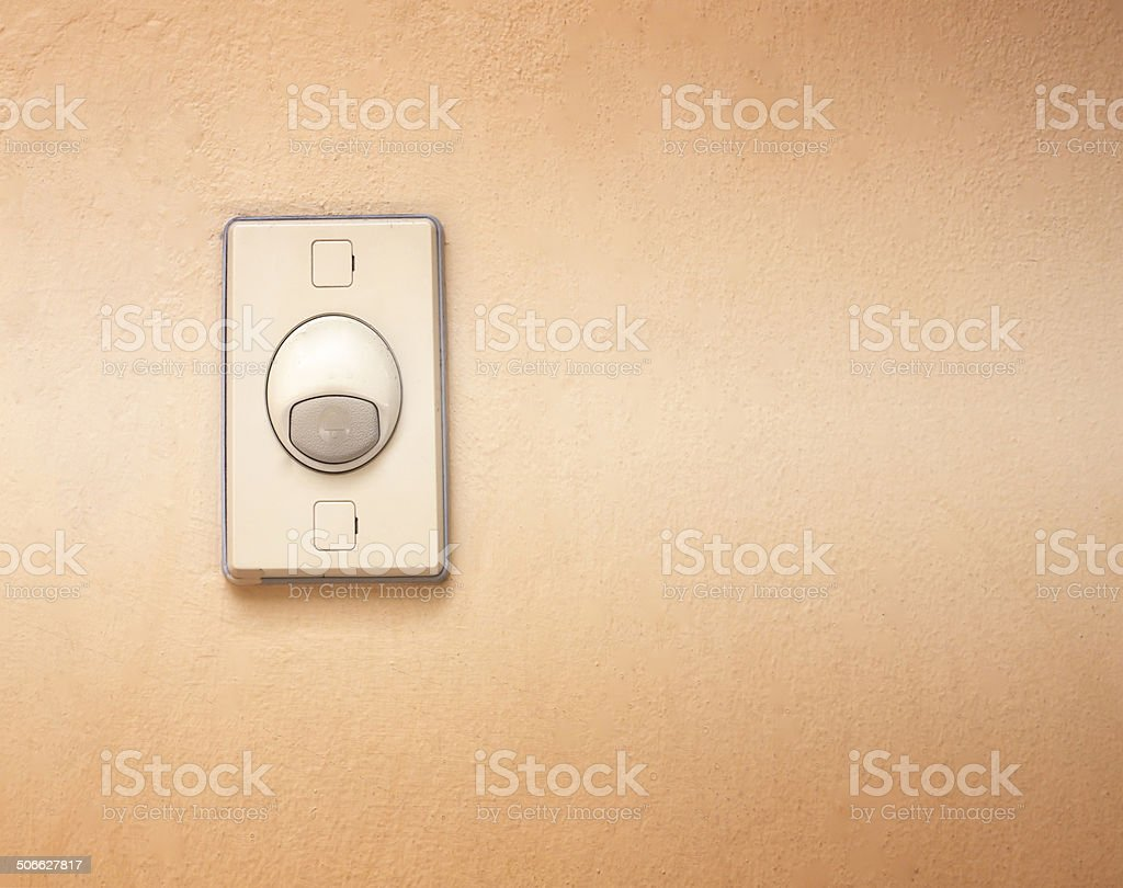 Bell switch stock photo