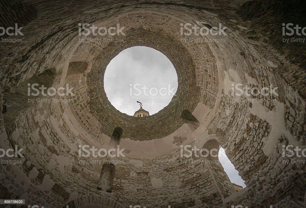Bell Tower and Vestibule in Split stock photo