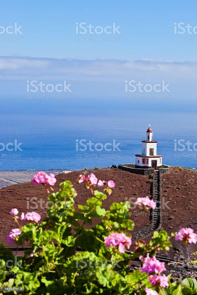 Bell Tower Campanario de Joapira, El Hierro, Canary Islands stock photo