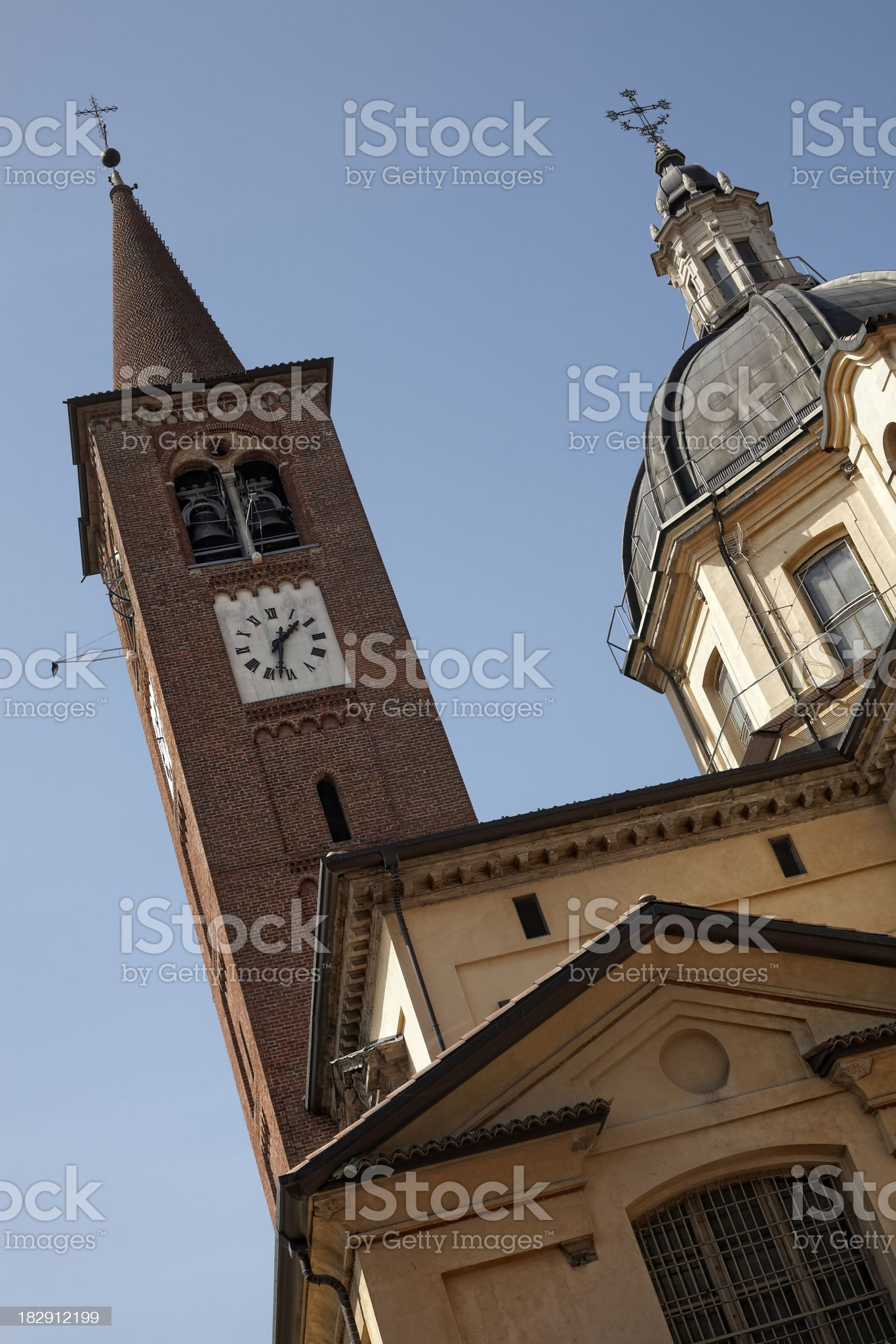 Bell Tower, Color Image royalty-free stock photo