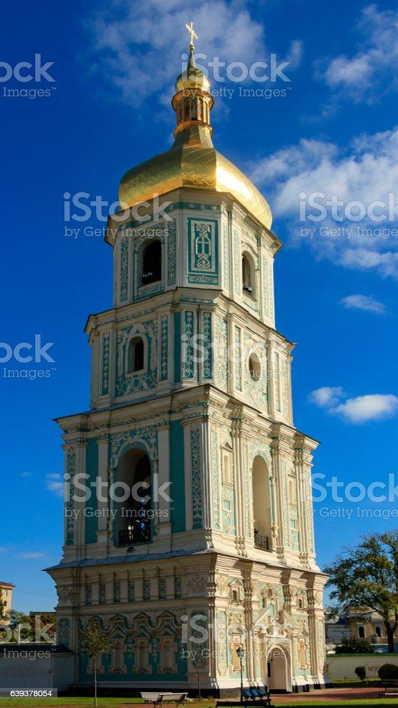 bell tower of Saint Sophia . stock photo
